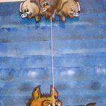 o lobo e os 3 porquinhos
